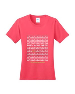 Find Your Herd Women's T-Shirt (CORAL)