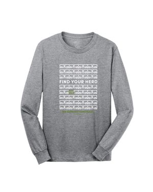 Find Your Herd Long Sleeve T-Shirt