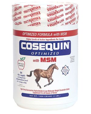 Cosequin Equine Powder with MSM, 1400 gm - Ongoing Need - $102.10 Each