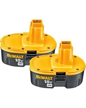 18V Rechargable Battery - Ongoing Need - $99.00/2-Pack