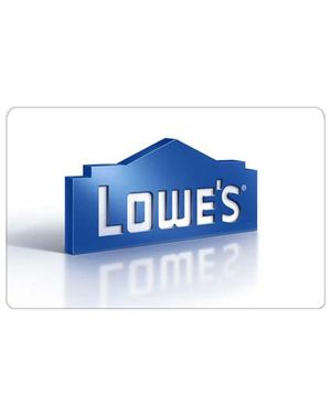 Lowe's Gift Cards - Ongoing Need - $$ Up to You!
