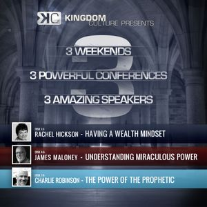 3 Conferences - Rachel Hickson, James Maloney, Charlie Robinson
