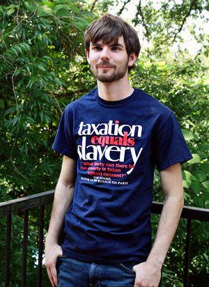 Taxation = Slavery T-shirt
