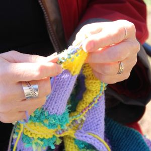 Yarning at the Arboretum—August 11