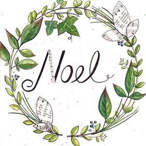 Watercolor Wreath – December 3