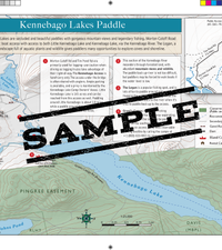 Downloadable Map: Kennebago Lakes and Lower Kennebago