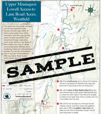 Downloadable Map: Missisquoi River: Rabion Farm to Lane Road, Westfield