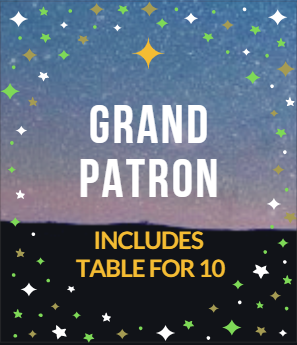 GRAND PATRON- Includes Table for 10