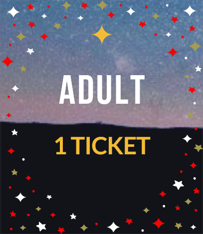 ADULT- Includes 1 Ticket