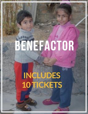 BENEFACTOR- Includes 10 Tickets