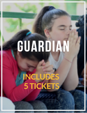 GUARDIAN- Includes 5 Tickets