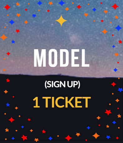 MODEL- Includes 1 Ticket