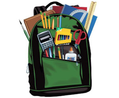 Backpack & School Supplies