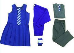 A Complete School Uniform Set