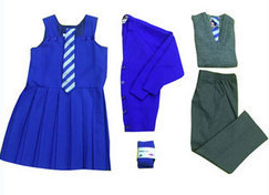 A Complete School Uniform Set