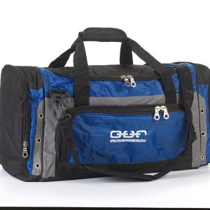 Duffle Bag - Black/Blue