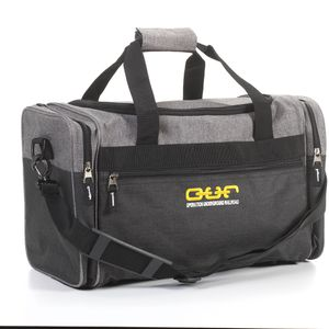 Duffle Bag- Heather Gray/Black