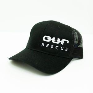 Rescue Snapback - Black