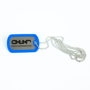Dog Tag- Blue