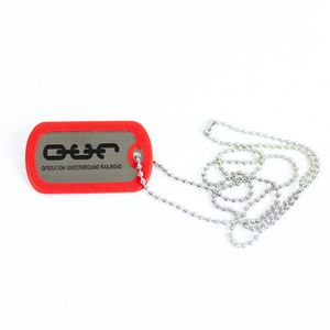 Dog Tag- Red