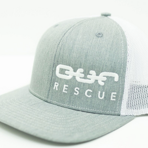 Rescue Snapback - Gray/White