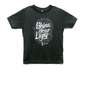 'Shine YOUR Light' Kids Tee