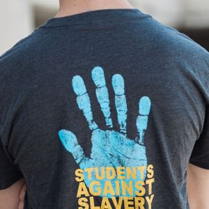 'Students Against Slavery' Tee