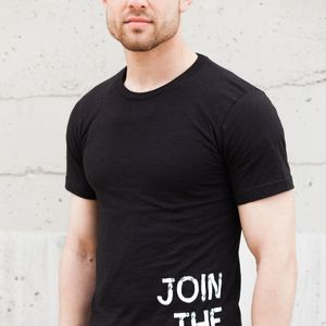 'Join the Fight.'  Mens/Unisex Crew Tee