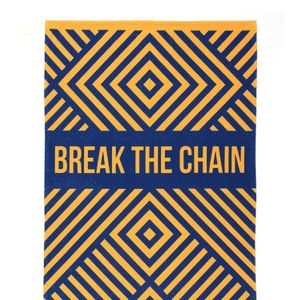 Break the Chain Beach Towel