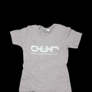 O.U.R. Women's Crew Tee - Light Gray