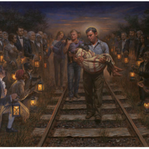 The Underground Railroad Painting