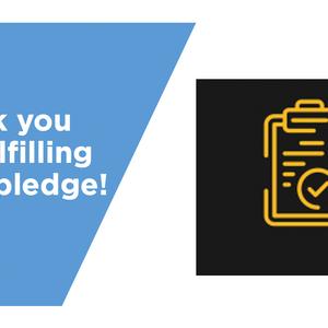 Complete Your Pledge