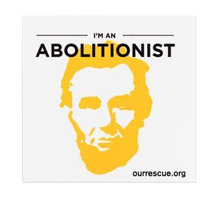 'I'm an Abolitionist' Sticker