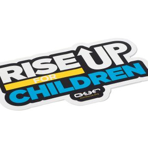 'Rise Up For Children' Sticker