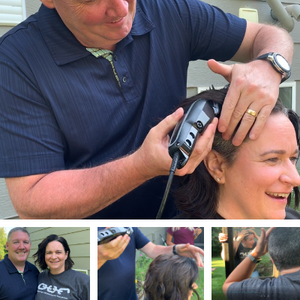 Tess Pyrah's Shave to Save Campaign