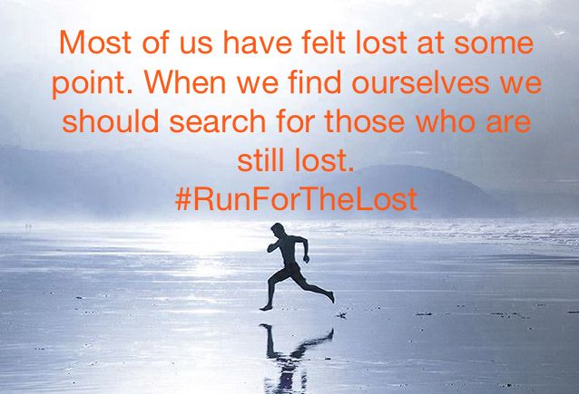 #runforthelost