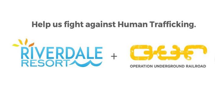 Swim to Fight Human Trafficking