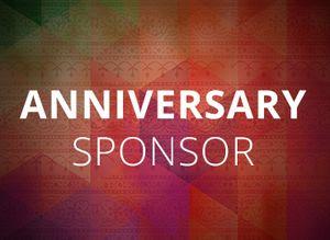 Anniversary Sponsor