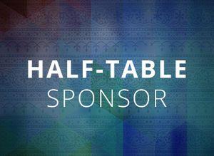 Half-Table Sponsor