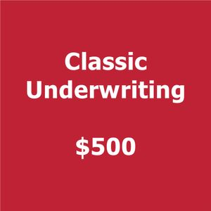 Classic 2018 Smartly Dressed  Underwriting