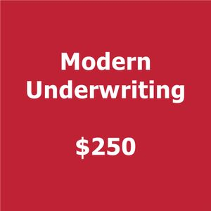 Modern  2018 Smartly Dressed Underwriting