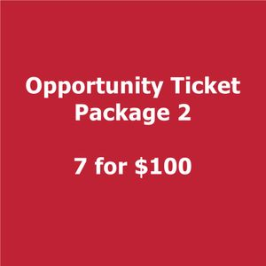 2018 Smartly Dressed  Opportunity Ticket Package 2