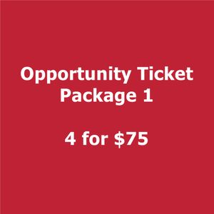 2018 Smartly Dressed  Opportunity Ticket Package 1