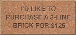 3 Line Brick
