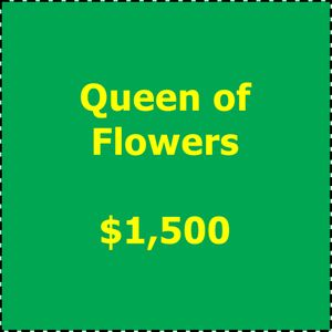 Art in Bloom 2019 Underwriting Queen of Flowers