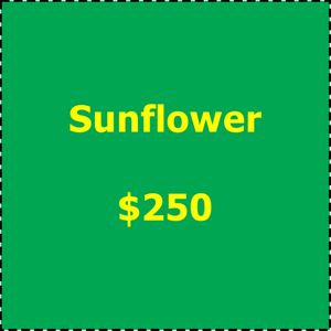 Art in Bloom 2019 Underwriting Sunflower