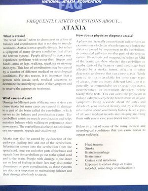 Free Ataxia Publications