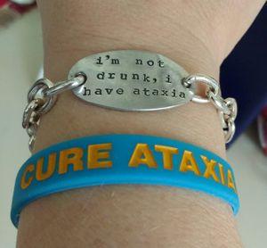 Cure Ataxia Wristband