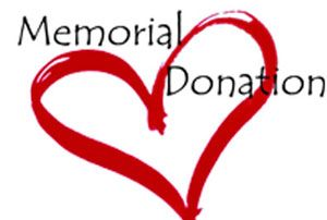 Memorial Donation / Don commémoratif