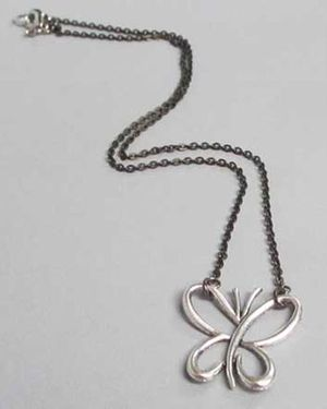 Simply Beautiful Butterfly Necklace